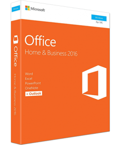 Microsoft Office Home and Business 2016 1-Desktop