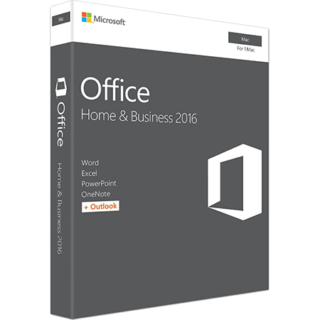 Microsoft Office for MAC Home and Business 2016 1-Desktop