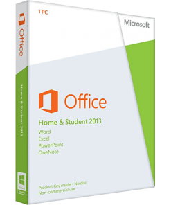 Microsoft Office Home and Student 2013 1-Desktop